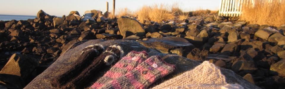 Accessoires aus Islandwolle